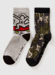 Чорапи с детайл Benetton-Copy