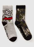 Чорапи `Graffiti` Benetton-Copy