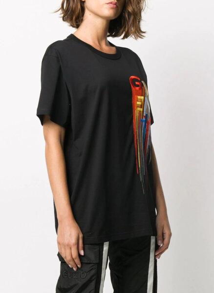 Тениска с бродерия Givenchy
