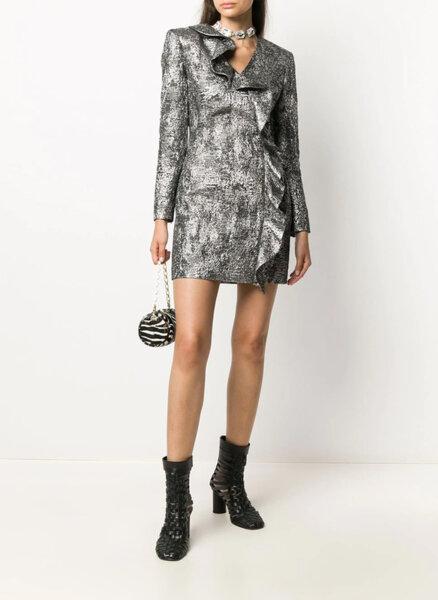 Асиметрична къса рокля Boutique Moschino