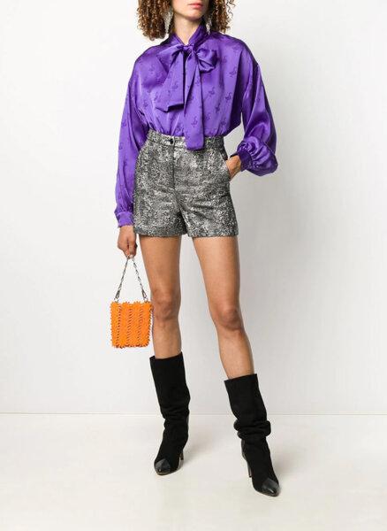 Къс панталон с метален ефект Boutique Moschino
