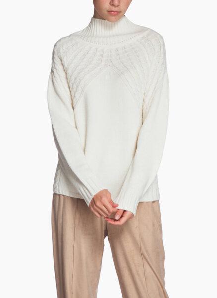 Пуловер с асиметрична плетка Pennyblack Esame