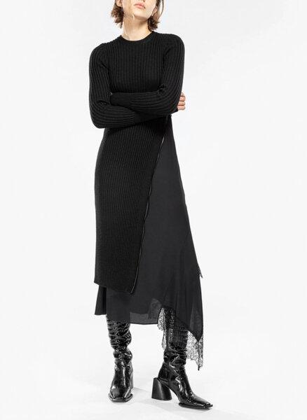 Плетена асиметрична рокля Nº21