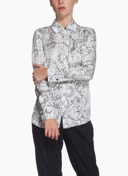Риза с тематичен десен Pennyblack Floreale