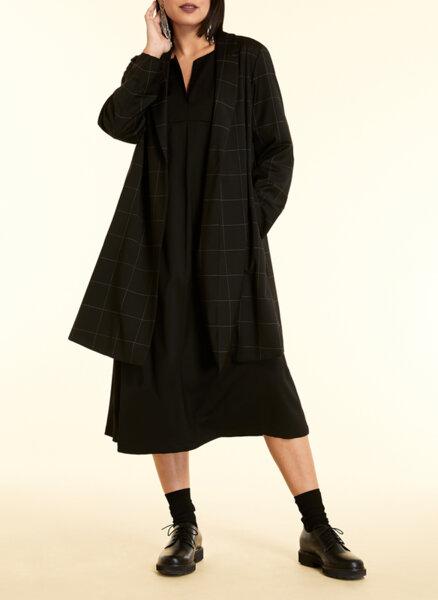 Разкроена вълнена рокля Marina Rinaldi