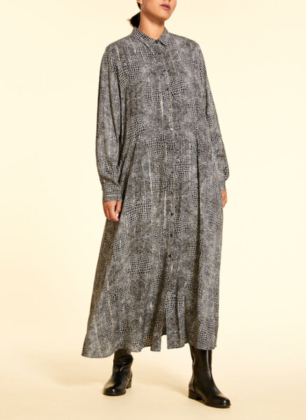 Разкроена рокля с лурекс Marina Rinaldi Decano