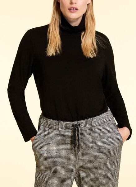 Пуловер с поло яка Marina Rinaldi Zaino