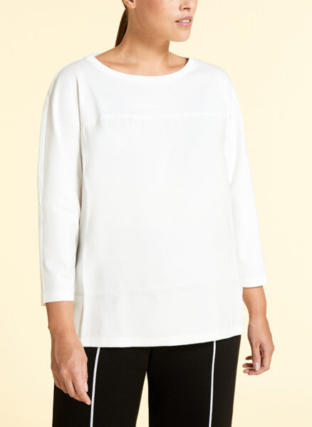 Памучна блуза Marina Rinaldi Vacante
