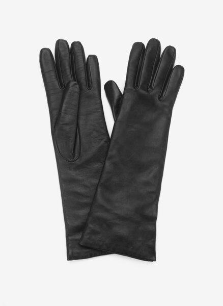 Кожени ръкавици Weekend Max Mara Senape