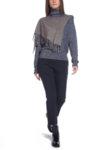 Пуловер с шал Sportmax Code Attilia