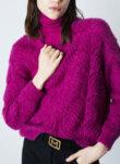 Пуловер от релефно плетиво Marella Sport Odilia-Copy