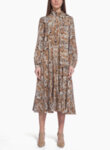 Миди рокля с коприна Max Mara Studio Theodor-Copy