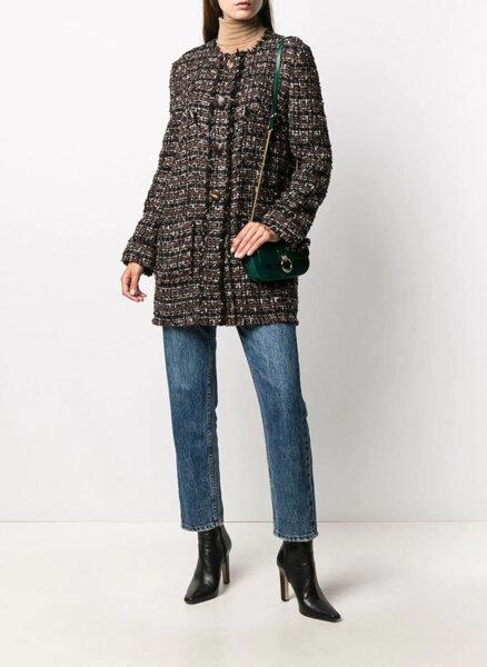 Палто от туид Dolce&Gabbana