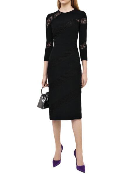 Миди рокля с дантела Dolce&Gabbana