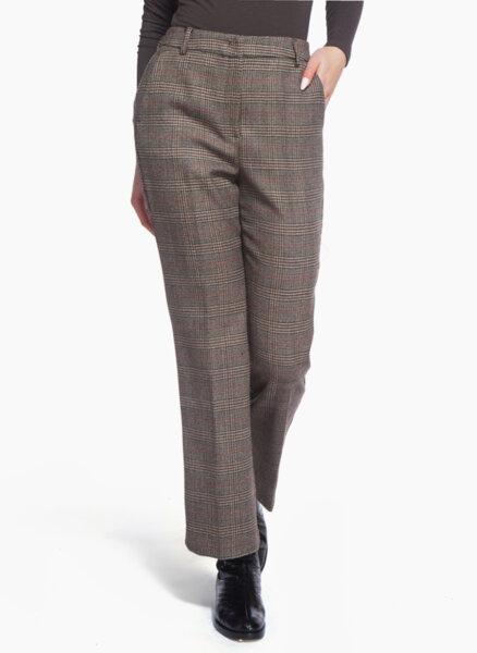 Кариран панталон Weekend Max Mara AGGETTO