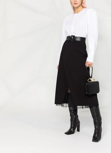 Пола с прехлупване Givenchy