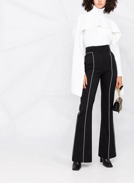 Пуловер с асиметричен детайл Givenchy