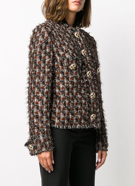 Сако от туид Dolce&Gabbana