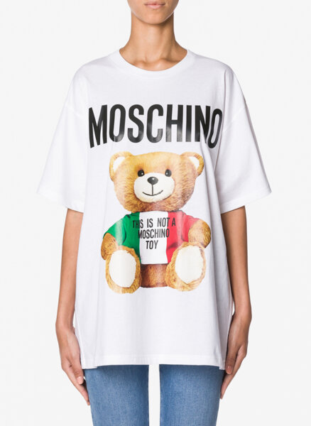 Тишърт Italian Teddy bear Moschino