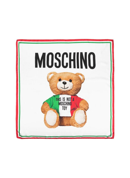 Шал Teddy Bear Moschino