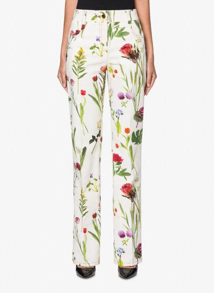 Панталон с флорален принт Boutique Moschino