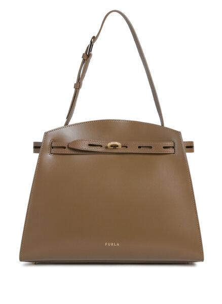 Чанта Furla Margherita Fango