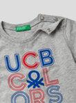 Тишърт от органичен памук Benetton Kids-Copy