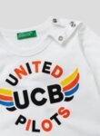 Блуза от органичен памук Benetton Kids-Copy