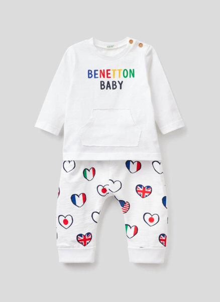Сет от две части Benetton New born