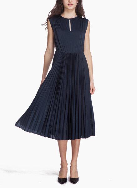 Миди рокля с плисе Marella Briose