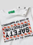 Тениска от памук с принт Benetton Kids-Copy