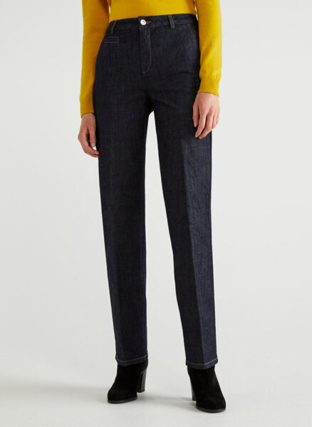 Чино панталон от деним Benetton