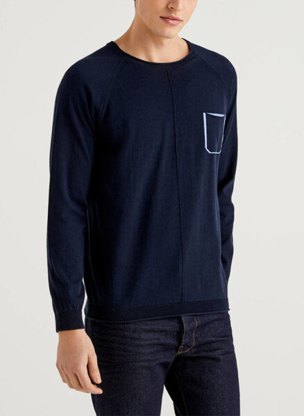 Памучен пуловер United Colors of Benetton
