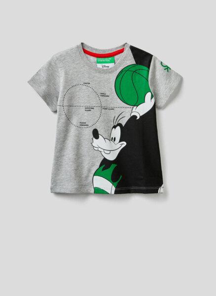 Тишърт с принт Benetton Kid