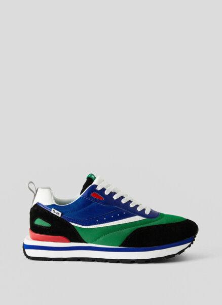 Многоцветни кецове Benetton