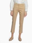 Панталон от памук Weekend Max Mara Vite-Copy