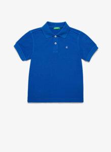 Полошърт с бродирано лого Benetton Kid/Junior