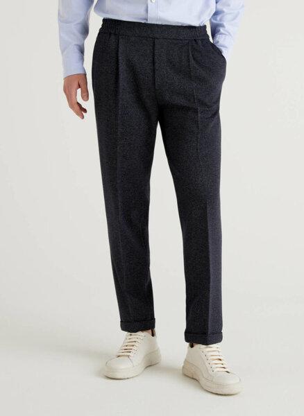 Панталон с ръб Benetton
