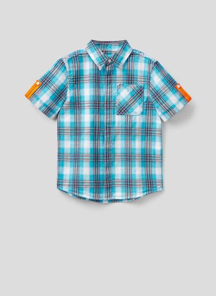 Карирана риза Benetton Junior