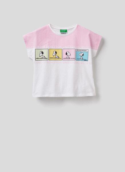Памучна блуза Benetton Junior