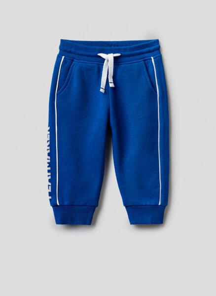 Памучен панталон Benetton Kid