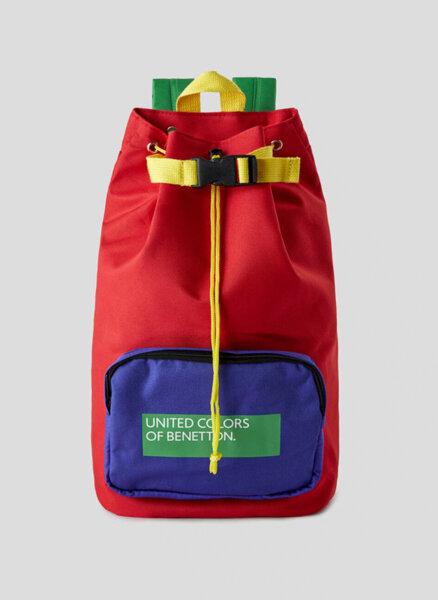 Раница с лого Benetton Junior