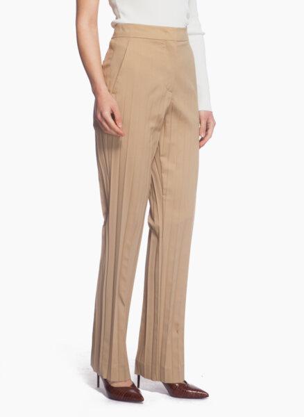 Панталон с плисирана материя Sportmax Clara
