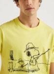 Памучен тишърт Snoopy Benetton-Copy
