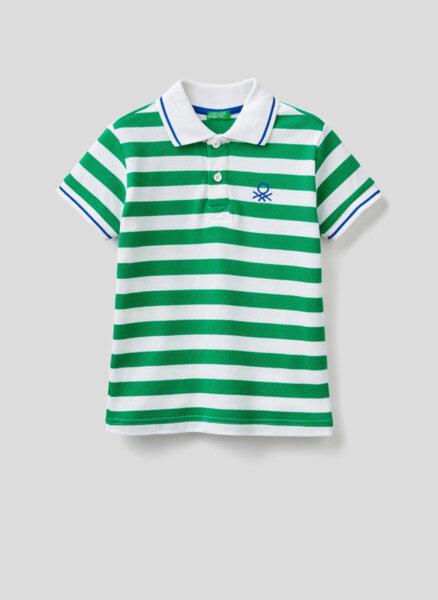 Раиран полошърт Benetton Kid/Junior