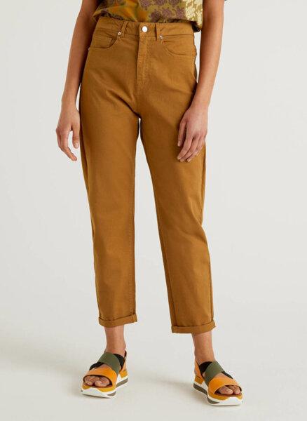 Панталон с висока талия Benetton