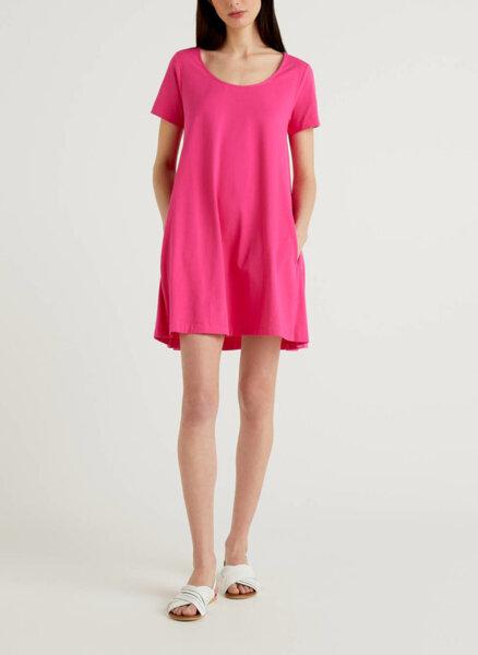 Мини рокля от памук Benetton