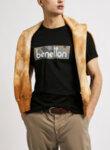 Тениска с бранд лого принт Benetton-Copy