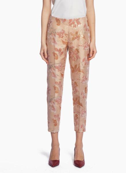 Панталон от жакард с ламе Pennyblack Foligno