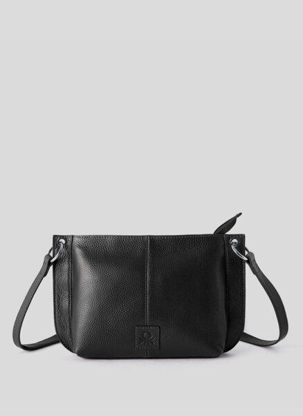 Чанта от естествена кожа Benetton